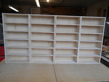 1:25 1:24 Model car display case shelf X 4  Holds 24 cars. PLEASE READ