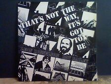 LEON ROSSELSON & ROY BAILEY  That's Not The Way . .   LP   Martin Carthy