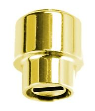 GOLD BARREL KNOB SWITCH SELECTOR TIP FOR FENDER TELE TELECASTER GUITAR & OTHER