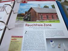 Meisterschule Modelleisenbahn 9 Rauchabzug Dampdlokschuppen 2S