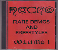 Necro - Rare Demos & Freestyles Vol. 1 - CD (Psycho+Logical 2001)