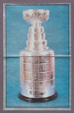 1988-89 Panini NHL Hockey Sticker Stanley Cup Foil #176 #177