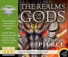 The Immortals: The Realms of the Gods 4 by Tamora Pierce (2015, CD, Unabridged)
