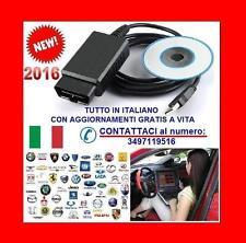 DIAGNOSI AUTODIAGNOSI ITALIANO OBD OBD2 TESTER SCANNER per TUTTE AUTO + FURGONI