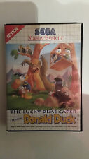 The Lucky Dime Caper Donald Duck Sega Master System
