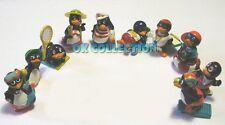KINDER FERRERO _ PINGUI BEACH 1994 _ serie completa 10 sorpresine