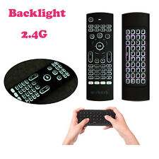 Mini Wireless 2.4G Keyboard Air Mouse Backlit Remote Control Für Android TV Box