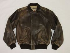 *CHEVIGNON FLIEGER LEDERJACKE*OLD FLIGHT*AIR CORPS*BRAUN*VINTAGE*GR: M*TIP TOP