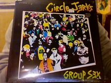 Circle Jerks Group Sex LP sealed colored vinyl RE reissue
