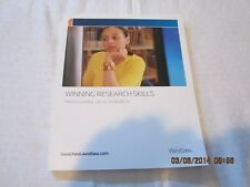 Winning Research Skills Professional Legal Research by WESTLAW (2009)