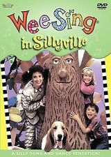 Wee Sing in Sillyville DVDs-Good Condition