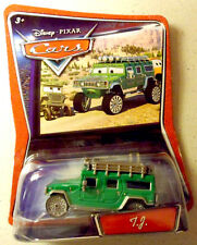 T.J. tj WALMART EXCLUSIVE NEW disney pixar cars green hummer wal-mart