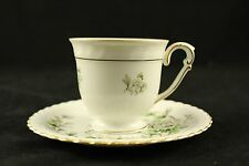 vtg Franconia K&A Krauthein Tea Cup and Saucer Selb Bavaria Germany