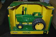 1/16 John Deere 6030 tractor w/ no cab & duals by Ertl very nice new in box