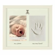 Baby Clay Hand Print Photo Frame Gift With Icons