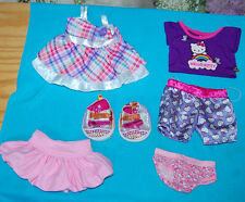Build -A-Bear Lot of 6 Hello Kitty Clothing Panty Pajamas Twinkle Toes Skechers