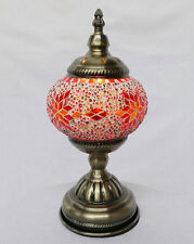 Tischlampe Lampe Orientalisch Türkei Mosaiklampe Orient 1001 Nacht GL07OR-a