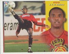 SAMUEL ETO'O # CAMEROON RCD.MALLORCA LIGA 2003 ESTE STICKER CROMO