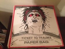 "PAPER BAG - TICKET TO TRAUMA 12"" LP USA EXPERIMENTAL SEALED"