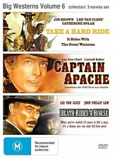 Big Westerns 3 Movies ●● HARD RIDE / CAPTAIN APACHE / DEATH RIDES A HORSE ●●2014