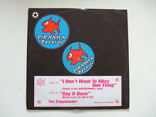 "The Copymaster-I Don't Want To Miss One Thing-Disco Mix 12"" Vinile ITALIA 1998"