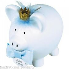 Amscan LITTLE PRINCE Piggy Bank Novelty Gift Money Box Bank Jar Save Boxed