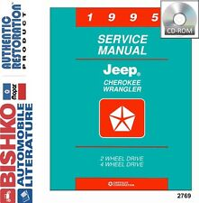 1995 Jeep Cherokee Wrangler Shop Service Repair Manual CD
