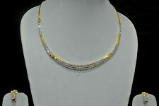 Elegant  American Diamond Party String  Necklace Set  by fashionite13