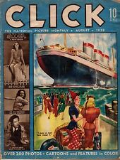 1939 Click August - Salvador Dali; Jean Parker; Gambling off California's shores