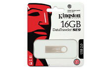 16GB USB Kingston Flash Drive DTSE9H/16GBZ Genuine Sealed New