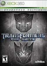 Transformers: The Game -- Cybertron Edition (Microsoft Xbox 360, 2007)