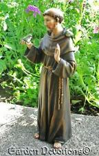"Detailed 4"" ST. FRANCIS OF ASSISSI Garden Statue"