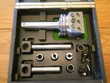 "NICE WOHLHAUPTER BORING FACING HEAD 3/4"" bar UPA 3 kit GERMANY"