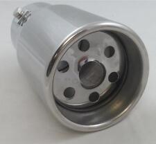 Embout tuyau pot d'echappement universel pour automobiles acier inox code 6013