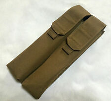 New Airsoft Tactical Nylon Molle Double P90 UMP Magazine Utility Pouch Coyote