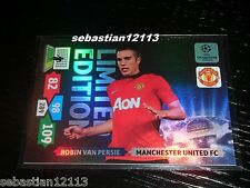 Champions League 2013/2014 Adrenalyn XL Robin Van Persie Limited Edition