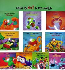 Full Set of 10 What is Not in my World Kids Children Story Education Book