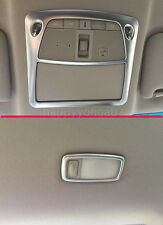 Interior Front+Rear Reading Light Cover Trim for 2016-2017 Nissan Altima Lights