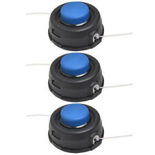 3X Auto Feed Tap Head Trimmer 10mm Dual Line Fit for Husqvarna T35 531300194 USA