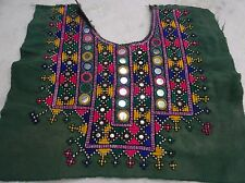 VINTAGE Small Banjara Neck Yoke Embroidery Applique Patch Sewing craft  2256