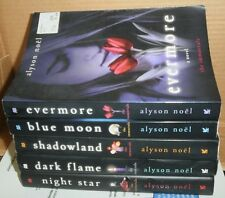 ~ Lot of 5 THE IMMORTALS series books by Alyson Noel Evermore Shadowland ~