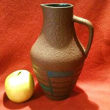 Kunstvoll geometrisch designte Vase, Steuler West Germany, 60er Jahre, 4235/0