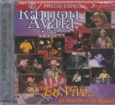 CD - Ramon Ayala Y Sus Bravos Del Norte NEW En Vivo FAST SHIPPING !
