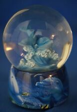 Christian Lassen Dolphin Musical Snowglobe Guidance Figurine  23228