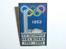 1952 OLYMPIC GAMES HELSINKI FINLAND 50th Anniversary of the Summer Olympics PIN