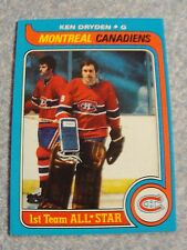 L# 57  1979 Topps #150 Ken Dryden, Montreal Canadians, NrMt condition