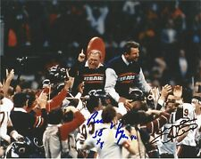 CHICAGO BEARS MIKE DITKA BUDDY RYAN SIGNED 8X10 1985 SUPER BOWL CHAMPIONS 85