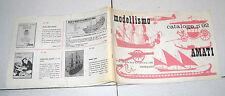 AMATI MODELLISMO Catalogo n. 92 del 1971 OTTIMO Torino