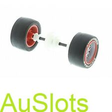 Scalextric W10605 Lightning McQueen Silver Rear Wheel Axle Assembly (C3434)