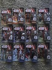 "Star Wars The Force Awakens 12 Lot Action Figure Lot 3.75"" inch Rey Kylo"